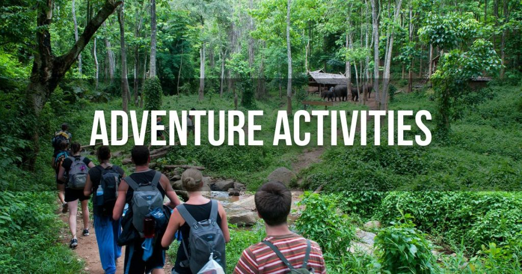 Adventure activities (Jungle exploration)