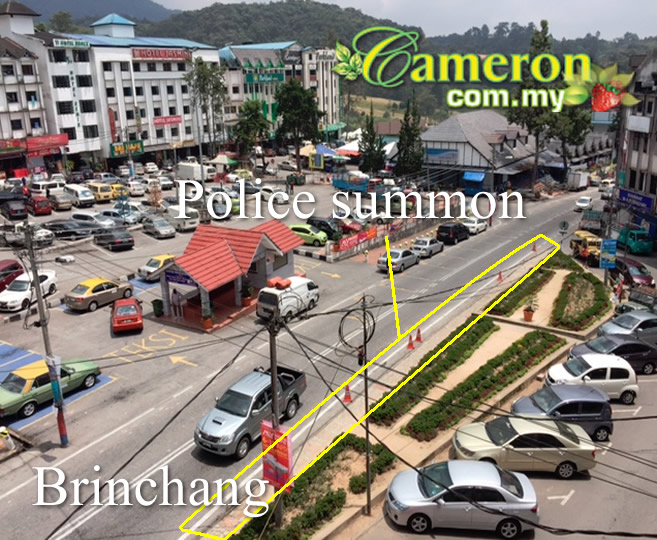 cameron highlands summon JPJ