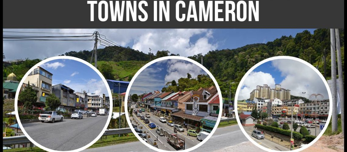 Towns in Cameron